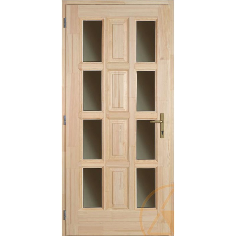 Ámor fenyő bejárati ajtó
