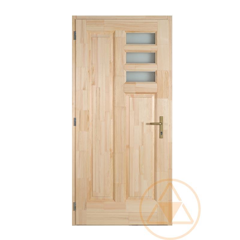 Bogi fenyő bejárati ajtó