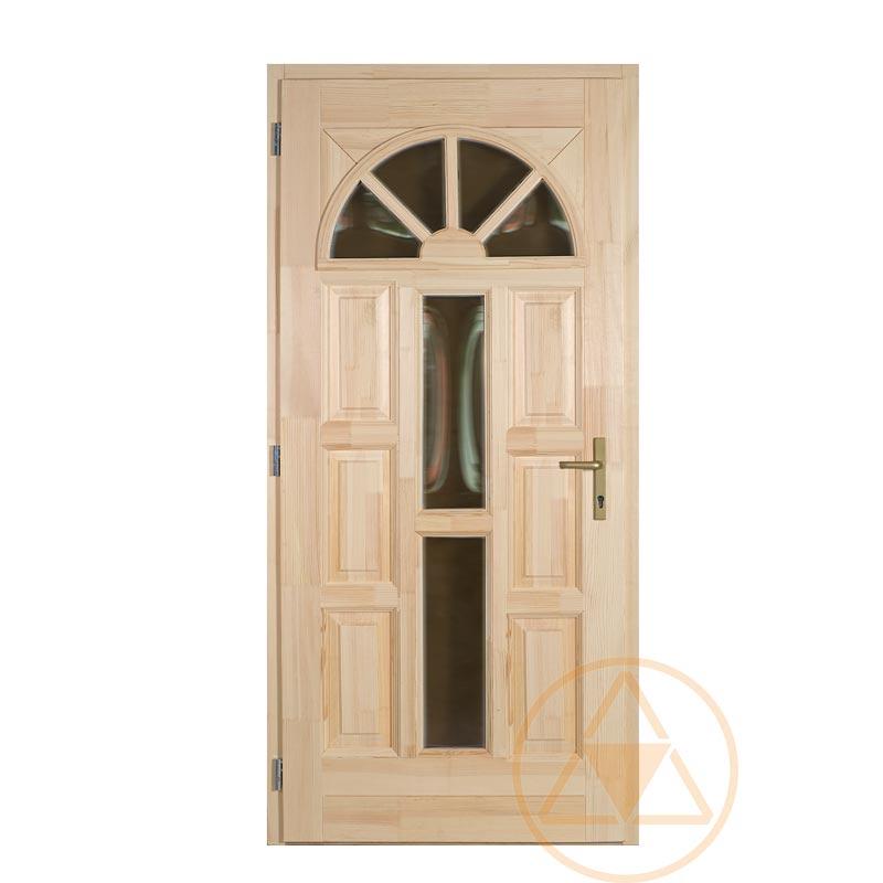 Napsugár fenyő bejárati ajtó