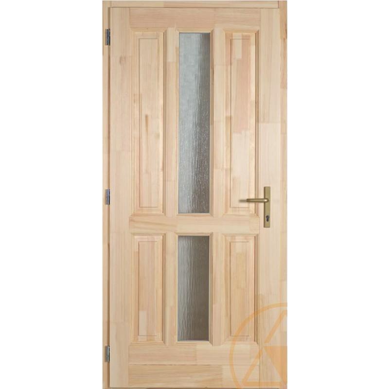 Eger fenyő bejárati ajtó