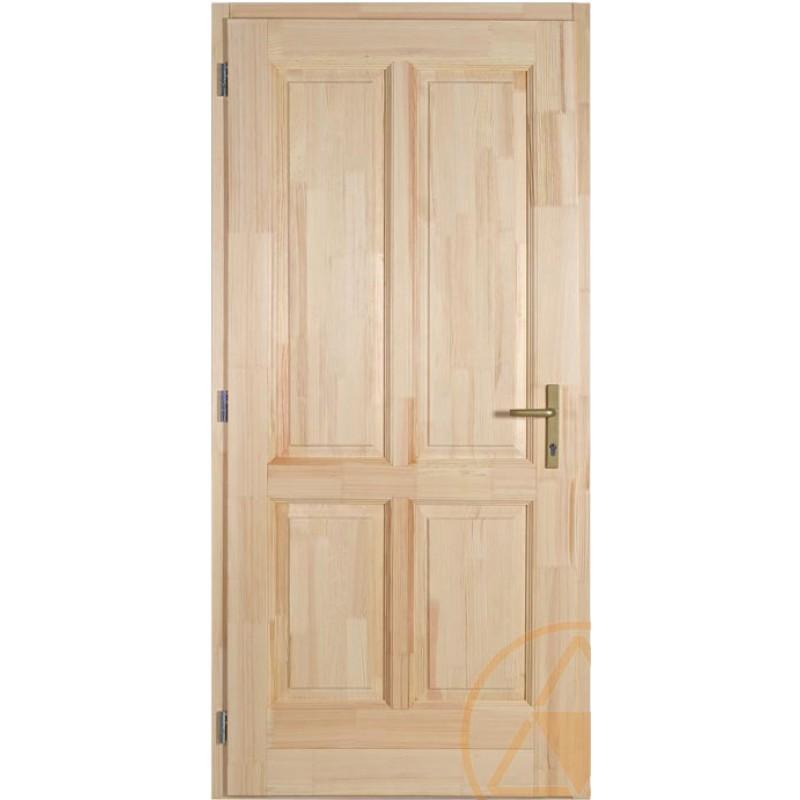 Heves fenyő bejárati ajtó