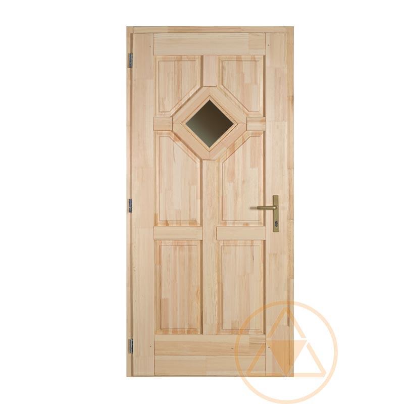 Tarna fenyő bejárati ajtó