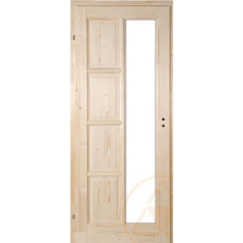 Akciós Mecsek fenyő beltéri ajtó  98x208