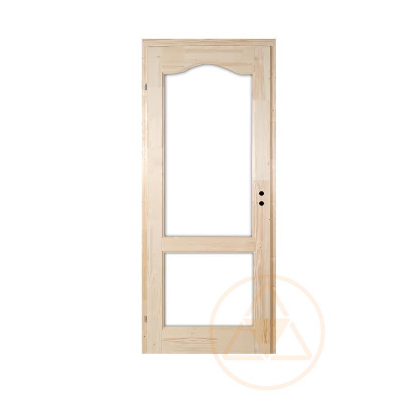 Rusztikus fenyő beltéri ajtó
