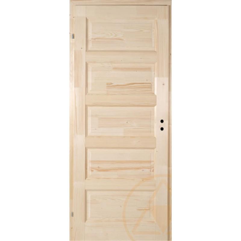 Zebra fenyő beltéri ajtó