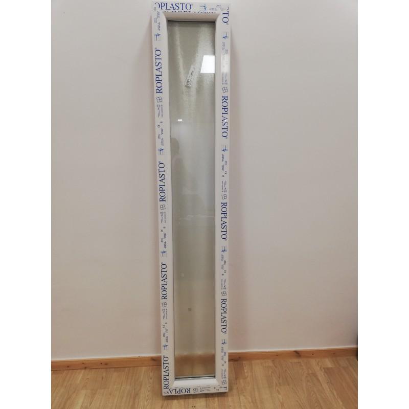 Fix oldalvilágító bármelyik bejárati ajtóhoz 40x208  Roplasto Germany